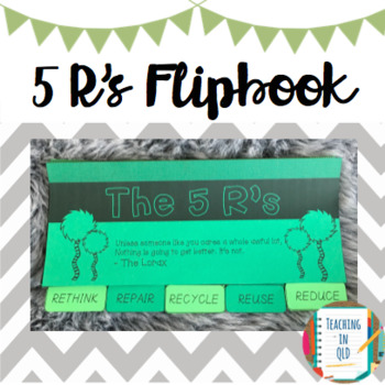 5 Rs Sustainability Flipbook