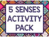 5 SENSES ACTIVITY PACK
