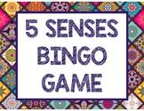 5 SENSES BINGO
