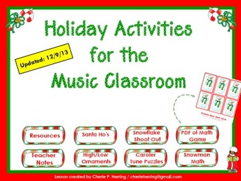 5 SMART Holiday Activities for the Music Classroom