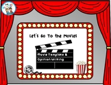 Distance Learning: 5 STAR Movie Review Template and Opinio