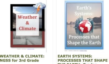 NGSS ~ Grades 3/4/5/6 ~ 5 Science Lessons