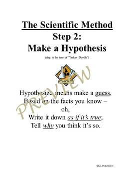 5 Scientific Method Songs for Third to Fifth Grades