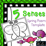 5 Senses 4 Seasons Spring Poem