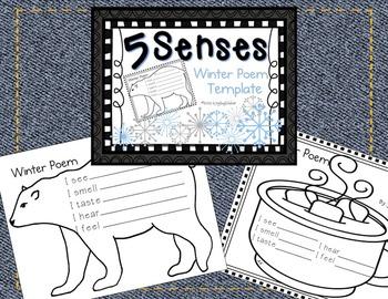 5 Senses 4 Seasons Winter Poem