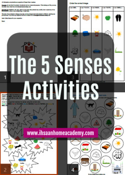 5 Senses Activity Mini Pack