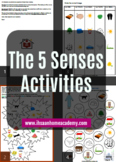 5 Senses Activity Mini Pack