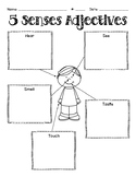 5 Senses Adjectives