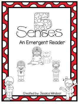 5 Senses - An Emergent Reader