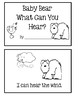 5 Senses Book 4 - Baby Bear What Can You Hear?