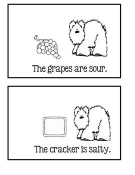 5 Senses Book 6 - Baby Bear How Does It Taste?