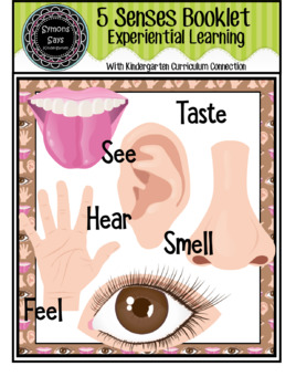 5 Senses Booklet and Sheets (Jpeg)