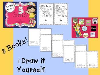 5 Senses: Books to Go!