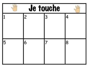 5 Senses Centers - French