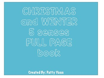 5 Senses Christmas and Winter Book