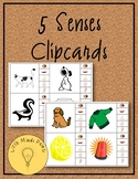 5 Senses Clipcards