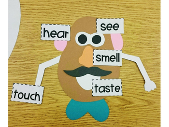 5 Senses Craft-Potato Friends