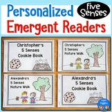 5 Senses Emergent Readers