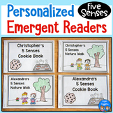 5 Senses Emergent Readers