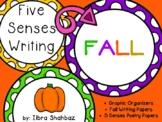 5 Senses Fall Writing