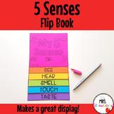 5 Senses Flip Book