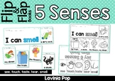 5 Senses Flip Books & Flap Book