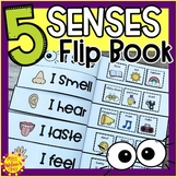 Five Senses Flip Book | Five Senses Activities | Special Education Resource