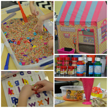5 Senses Ice Cream Theme Center Day