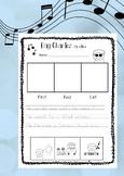 5 Senses Kindergarten Activity Ray Charles Timeline