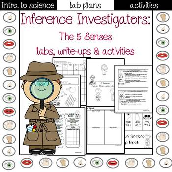 5 Senses Lab sheets and activities
