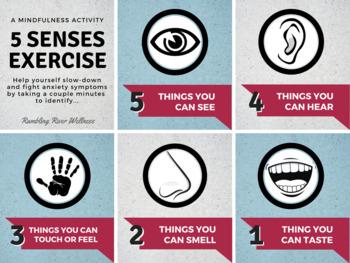 5 Senses Mindfulness Exercise