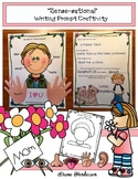 Mother's Day Craft 5 Senses Writing Prompt Also Great for