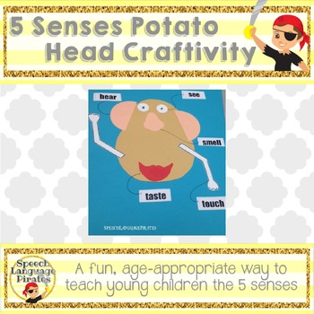 Mr Potato Head 5 Senses Teaching Resources | Teachers Pay Teachers