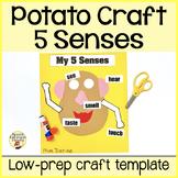 5 Senses Mr. Potato Head craftivity