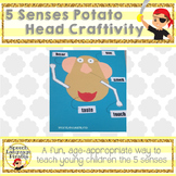 5 Senses Mr. Potato Head craftivity