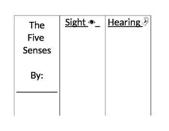 5 Senses Picture Sort