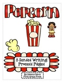 5 Senses Popcorn Writing Process Pack