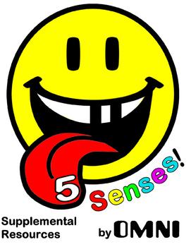 5 Senses Posters and activity sheets