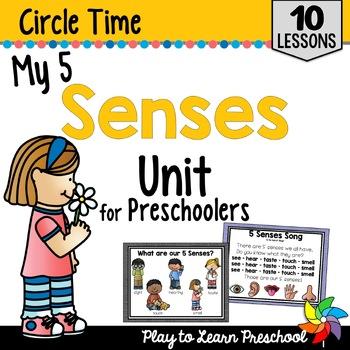5 Senses Circle Time Unit