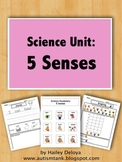 5 Senses: Science Unit for Kids with Autism