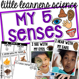 5 Senses - Science for Little Learners (preschool, pre-k,
