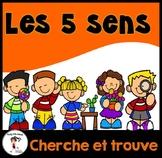 5 Senses Seek and Find/ Cherche et trouve les 5 sens