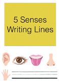 5 Senses Sentence Lines