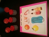 5 Senses Sniff and Tell Activity