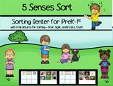 5 Senses Sort