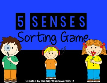 5 Senses Sorting Game