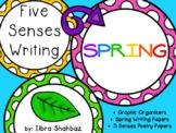 5 Senses Spring Writing