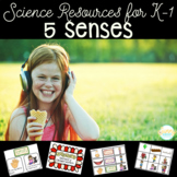 5 Senses- Teaching Points, Sorts, Observations & More- ADORABLE!