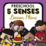 5 Senses Theme Preschool Lesson Plans