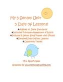 5 Senses Unit (5 lessons)